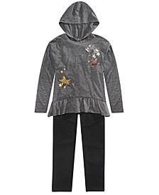 Big Girls Star Hoodie & Leggings, Created for Macy's