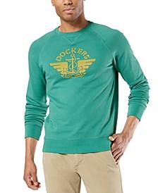 Men's Logo Graphic Crewneck Sweatshirt