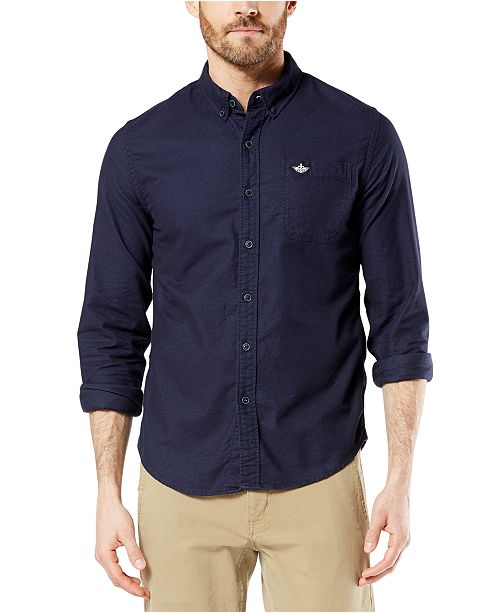 Dockers Men's Alpha Chamois Shirt