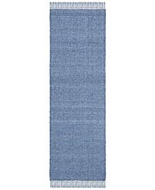 "Amalie LRL6350A Blue 2'6"" X 8' Runner Area Rug"