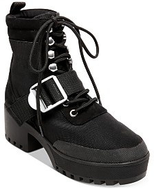 Steve Madden Women's Grady Lug-Sole Booties