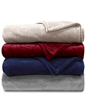 Red Blankets & Throw Blankets - Macy\'s