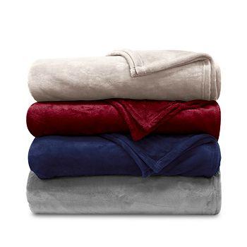 Lauren Ralph Lauren Micromink Plush Blanket Collection (Any Size)