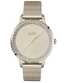 Women's Twilight Gold Ion-Plated Stainless Steel Mesh Bracelet Watch 36mm