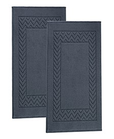 Enchante Home Turkish Cotton 2-Pc. Bath Mats