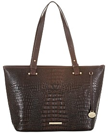 Brahmin Asher Sparrow Leather Tote