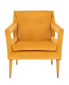Mara Tufted Accent Chair, Quick Ship