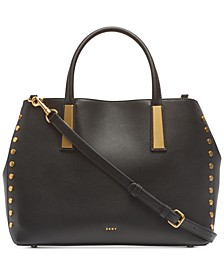 Ewen Pebble Leather Work Tote, Created for Macy's