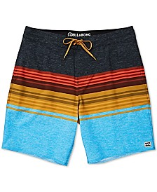 Billabong Toddler & Little Boys Spinner Striped Colorblocked Swim Trunks