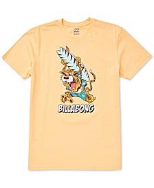 Toddler & Little Boys Tiger-Print Cotton T-Shirt