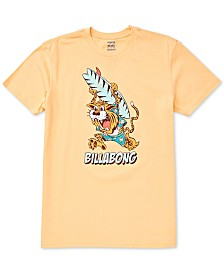 Billabong Toddler & Little Boys Tiger-Print Cotton T-Shirt