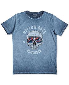 Quiksilver Big Boys Hollow Daze-Print Cotton T-Shirt