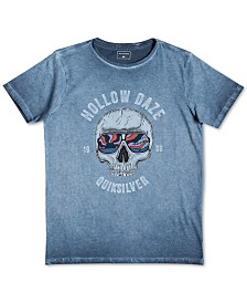 Quiksilver Big Boys Hollow Daze-Print Cotton T-Shirt