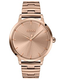 Women's Marina Rose Gold Ion-Plated Stainless Steel Bracelet Watch 36mm
