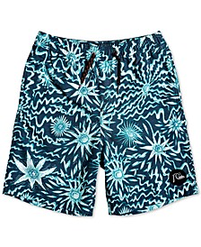 Big Boys Voodoo Volley Printed Swim Trunks