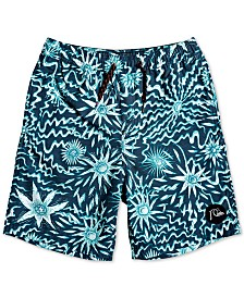 Quiksilver Big Boys Voodoo Volley Printed Swim Trunks
