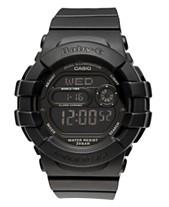 ece45948a2fc Baby-G Watch, Women's Digital Black Resin Strap 42x46mm BGD140-1A