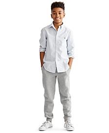 Toddler, Little and Big Boys Blake Oxford Shirt