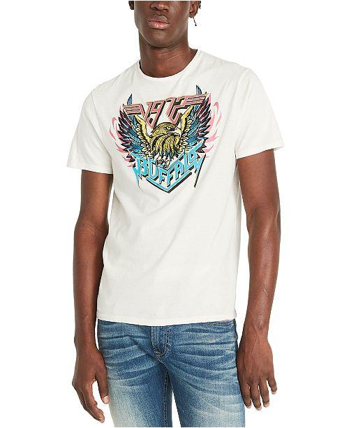 Buffalo David Bitton Men's Tyjew Logo Graphic T-Shirt