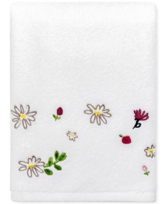 """Dahlias Cotton 27"""" x 52"""" Bath Towel"""
