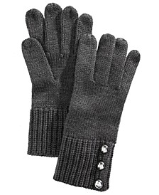 Logo Dome-Button Gloves