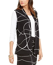 Printed Sweater Vest, Created For Macy's