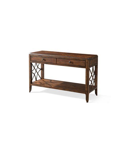 Furniture Georgia Rain Drawer Sofa Table Reviews Furniture Macy S