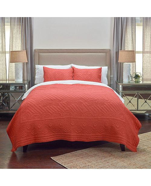 Rizzy Home Riztex USA Moroccan Fling King Quilt