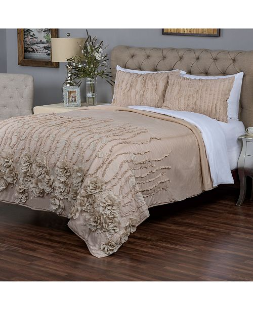 Rizzy Home Riztex USA Chastity Bloom Quilt Collection