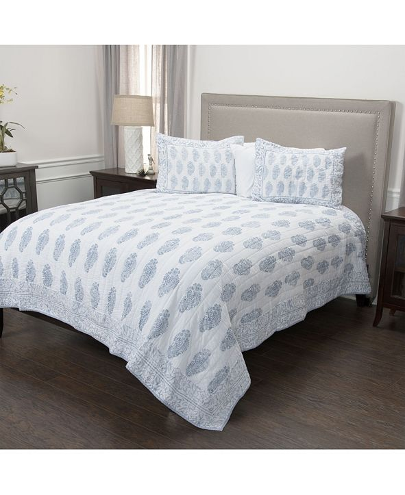 Rizzy Home Riztex USA Charlotte Queen Quilt