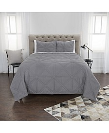 Riztex USA Simpson Queen 3 Piece Quilt Set