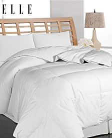 ELLE DÉCOR Microfiber Pinstripe Down Fiber Comforter Collection