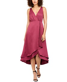 Alessia Layered-Hem Dress