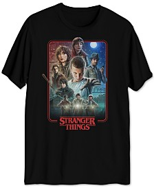 Stranger Things Men's Poster T-Shirt
