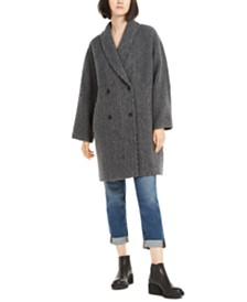 Eileen Fisher Double-Breasted Coat