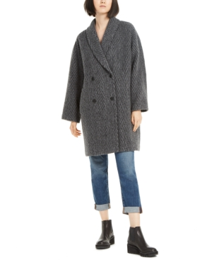 Eileen Fisher Coats DOUBLE-BREASTED COAT