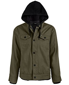 Men's Hooded Truck Stop Jacket