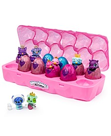 Colleggtibles, Jewelry Box Royal Dozen 12-Pack Egg Carton With 2 Exclusive Hatchimals-Colors may vary