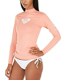 Juniors' Whole-Hearted Long-Sleeve Rash Guard
