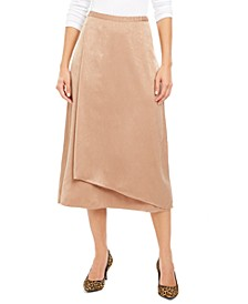 Faux-Wrap Skirt