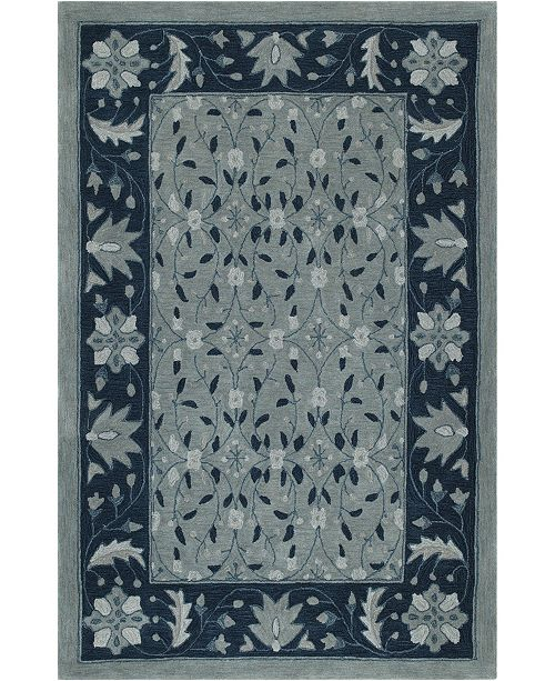 D Style CLOSEOUT! Torrey Tor1 Sky 8' X 10' Area Rugs