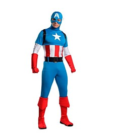 Men's Captain America Adult Costume