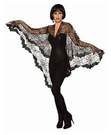 BuySeasons Bat Poncho Adult Costume