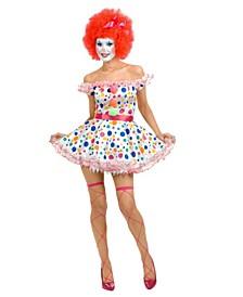 Women's Clowning Around Adult Costume