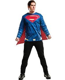 Men's Justice League Superman Adult Costume Top