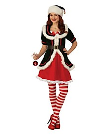 Women's Deluxe Female Elf Adult Costume
