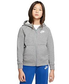 Nike Big Girls Zip-Up Fleece Hoodie