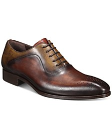 Men's Two-Tone Oxford Shoes
