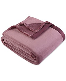 Classic Velvety Plush Full/Queen Blanket
