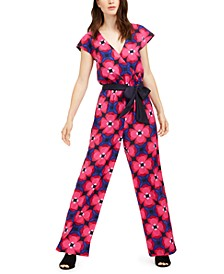 Benvolio Printed Belted Jumpsuit